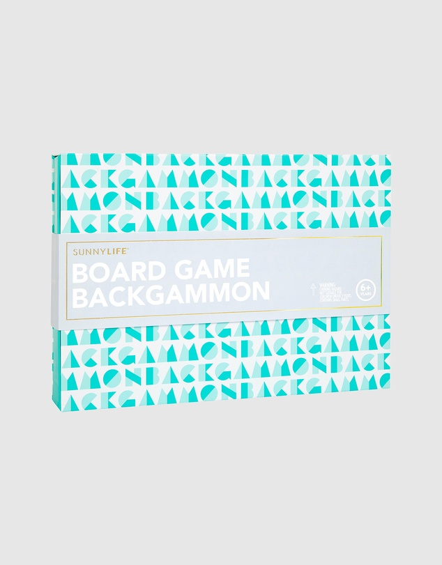 Sunnylife - Board Game Backgammon