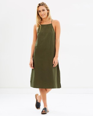 Elwood – Mila Dress Green