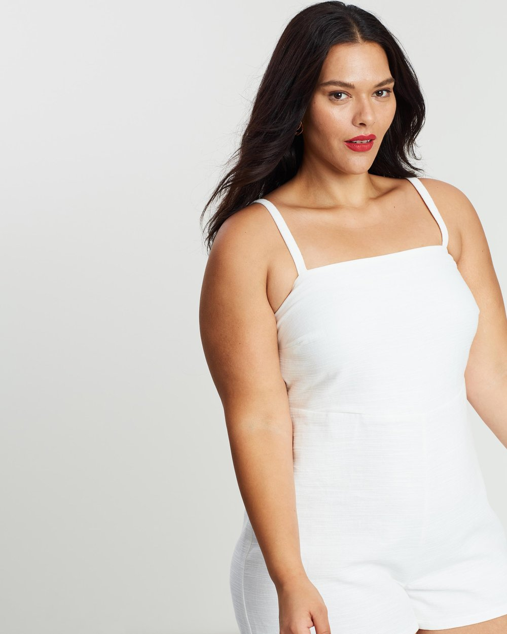 eccff52a6d ICONIC EXCLUSIVE - Sienna Cotton Playsuit by Atmos Here Curvy Online ...