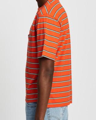 Everloom - SS Retro Stripe Tee T-Shirts & Singlets (Orange Multi)