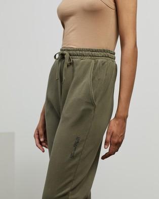 C&M CAMILLA AND MARC Jordan High Waisted Track Pants - Sweatpants (Dark Khaki)