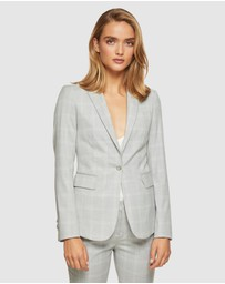 Oxford - Alexa Check Suit Jacket