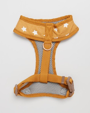 The Pup Club Star Harness - Pets (Mustard)