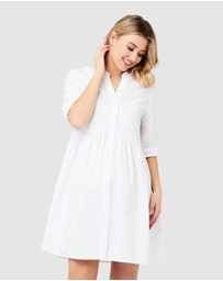 Ripe Maternity - Paige Poplin Dress