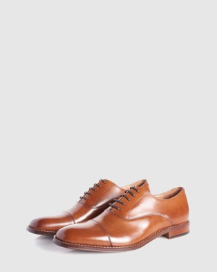 3 Wise Men The Cash - Dress Shoes (Tan)