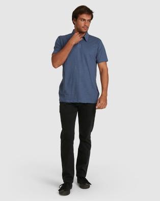 Billabong Essential Polo - Tops (SLATE BLUE)