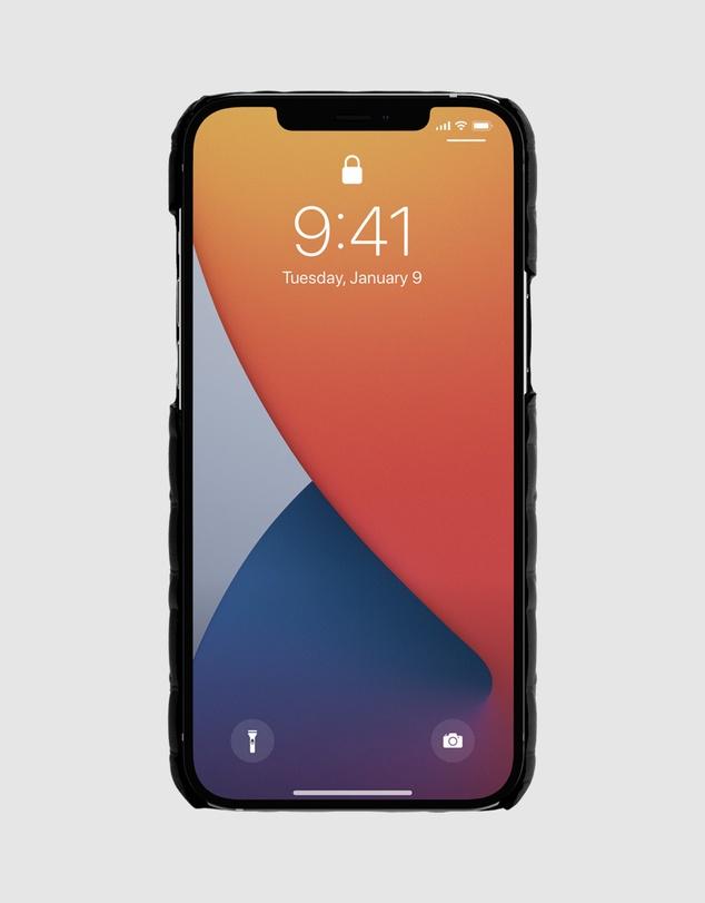 Women iPhone 12 & 12 Pro - Leather Slim Wrap Case