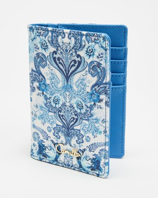 Camilla Passport Holder & Luggage Tag - Travel and Luggage (Talking About a Revolution)