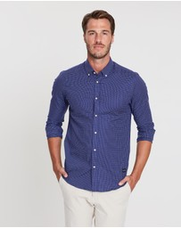 Scotch & Soda - Classic Iron-Free Stretch Shirt