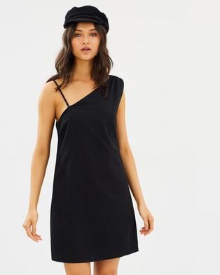 MINKPINK – One Shoulder Shift Dress