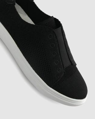 Zeroe Shuri Fly Knit Casual Shoes - Casual Shoes (Black)
