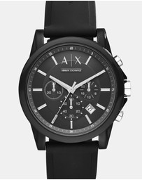 Armani Exchange - Black Men's Analogue Watch