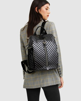 Belle & Bloom Far From Home Backpack - Backpacks (Black)