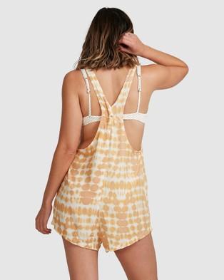 Billabong Weekender Sun Ray Jumpsuit - All onesies (MUSTARD)