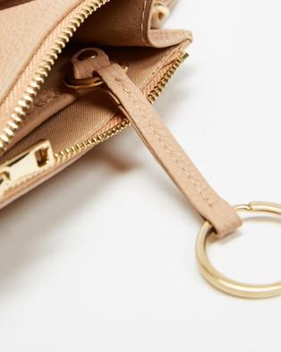 PETA AND JAIN Kenzie Coin Purse - Bags (Sand)