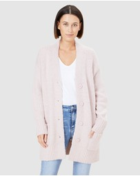 French Connection - Fluffy Longline Cardigan