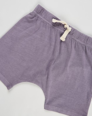 Cotton On Baby 3 Pack Mikko Shorts   Babies - Shorts (Apricot Sun, Black Wash & Dusk Purple Wash)