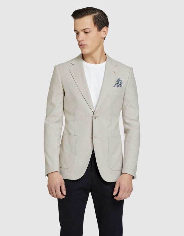 Oxford - Blake Cotton Stretch Twill Blazer