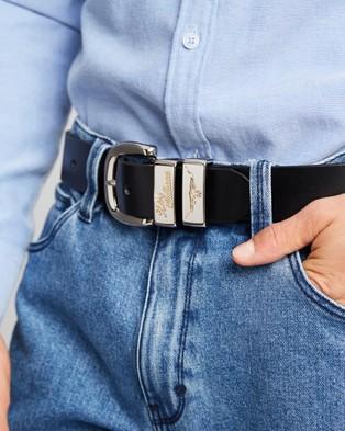 R.M.Williams Jerrawa Belt - Belts (Black)