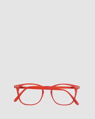 IZIPIZI Reading Collection E - Optical (Red)