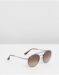Ray-Ban - Blaze Round Double Bridge RB3614N