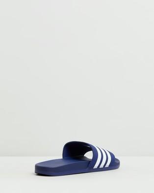 adidas Performance Adilette Comfort Slides   Men's - Slides (Dark Blue & Feather White)