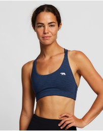 Running Bare - Midi Lotus Sports Bra