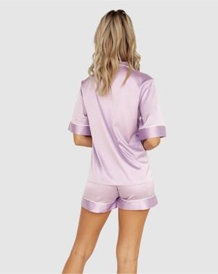 Modern Romantique Aubrey Pyjama Set - Two-piece sets (Lilac)