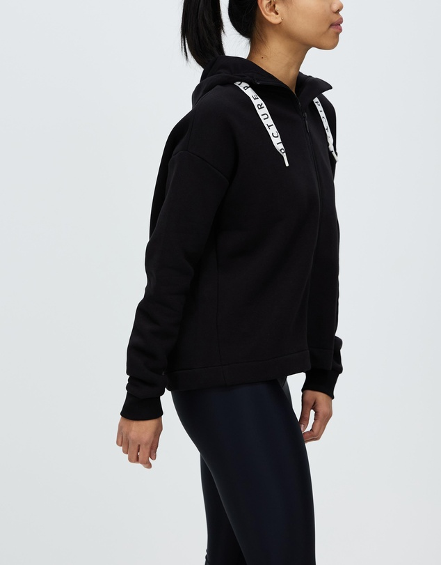 Women Mell Zip Hoodie