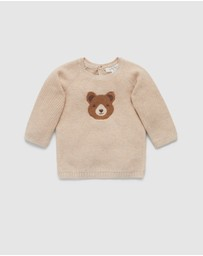 Purebaby - Little Bear Jumper - Babies
