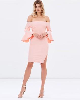 Mossman – Almost is Never Enough Dress – Bodycon Dresses (Roze Quartz)