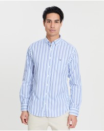 Gant - The Broadcloth 3-Colour Stripe Shirt