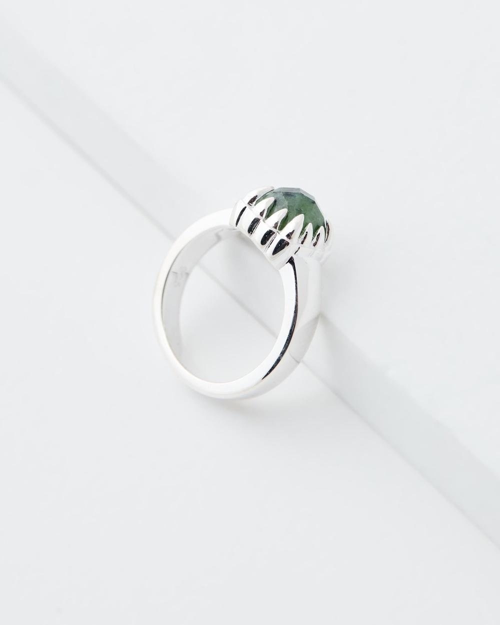 Stolen Girlfriends Club Baby Claw Ring Jewellery Green