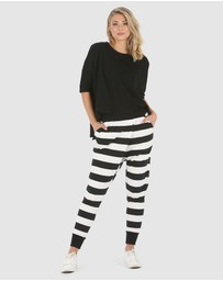Privilege - Wrap Crop Pants
