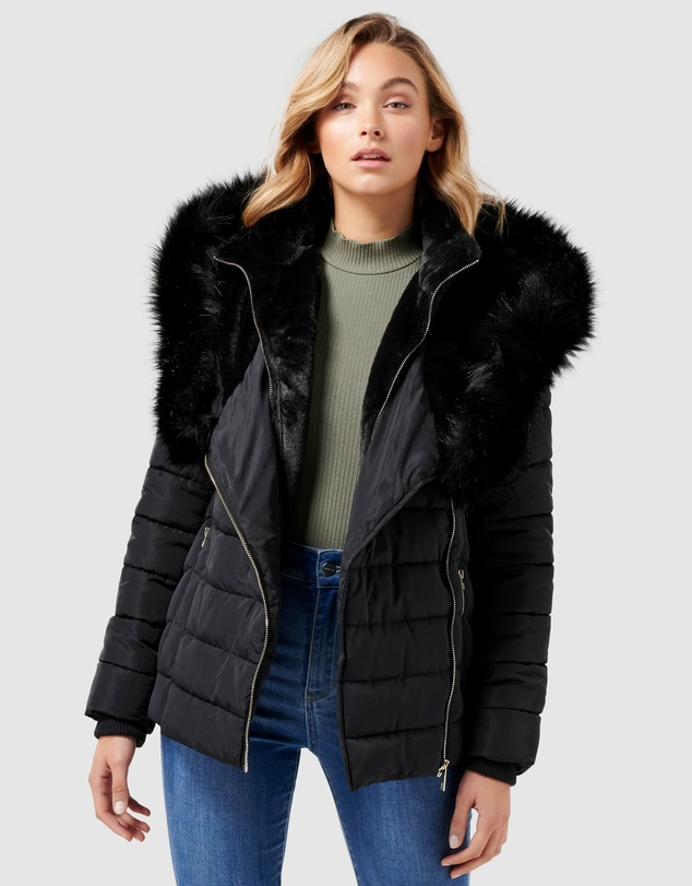 Forever New - Lucy Short Puffa Jacket