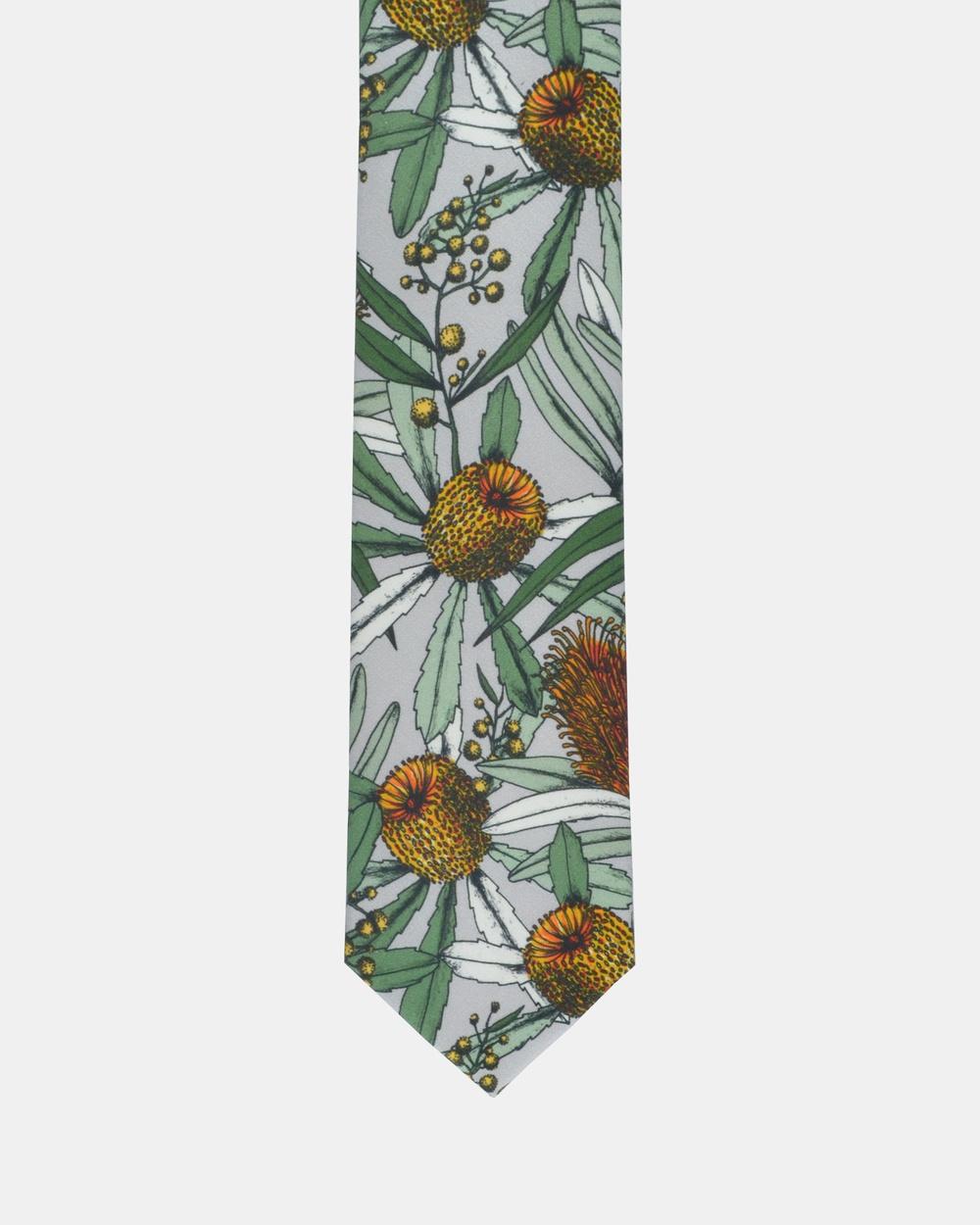 Peggy and Finn Banksia Tie Ties Grey Australia