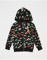 Rock Your Kid - ICONIC EXCLUSIVE - Game Over Hooded Jacket - Kids