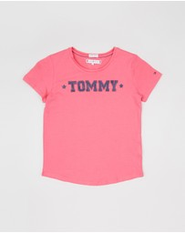 Tommy Hilfiger Kids - Essential Tommy Short Sleeve Tee - Teens