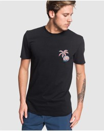 Quiksilver - Mens In The Jungle T Shirt