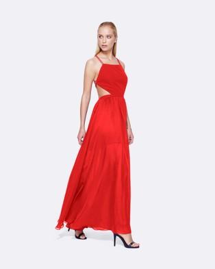 Fame & Partners – Mildred Dress – Dresses (Red)