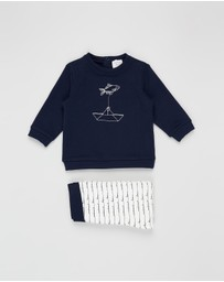 Carrément Beau - Sweater and Trousers Set - Babies