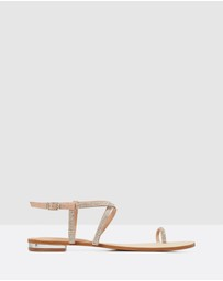 Forever New - Tully Toe Loop Sandals