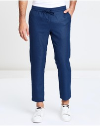 Double Oak Mills - Barclay Pull On Suit Trousers