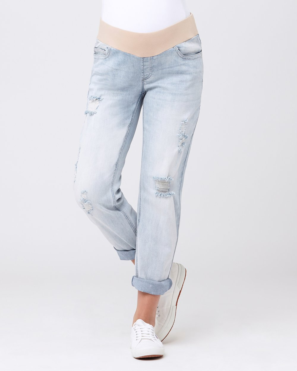 ffef7dacdcc12 Baxter Boyfriend Jeans by Ripe Maternity Online | THE ICONIC | Australia