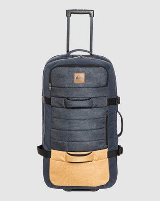 Quiksilver New Reach 100L Large Wheeled Suitcase - Travel and Luggage (HONEY HEATHER)