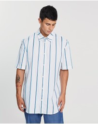 Band of Outsiders - SS Oversized Casual Shirt