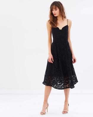 Cooper St – Shale Away Bustier Dress Black