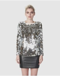 TORANNCE - Disco Lights Blouse