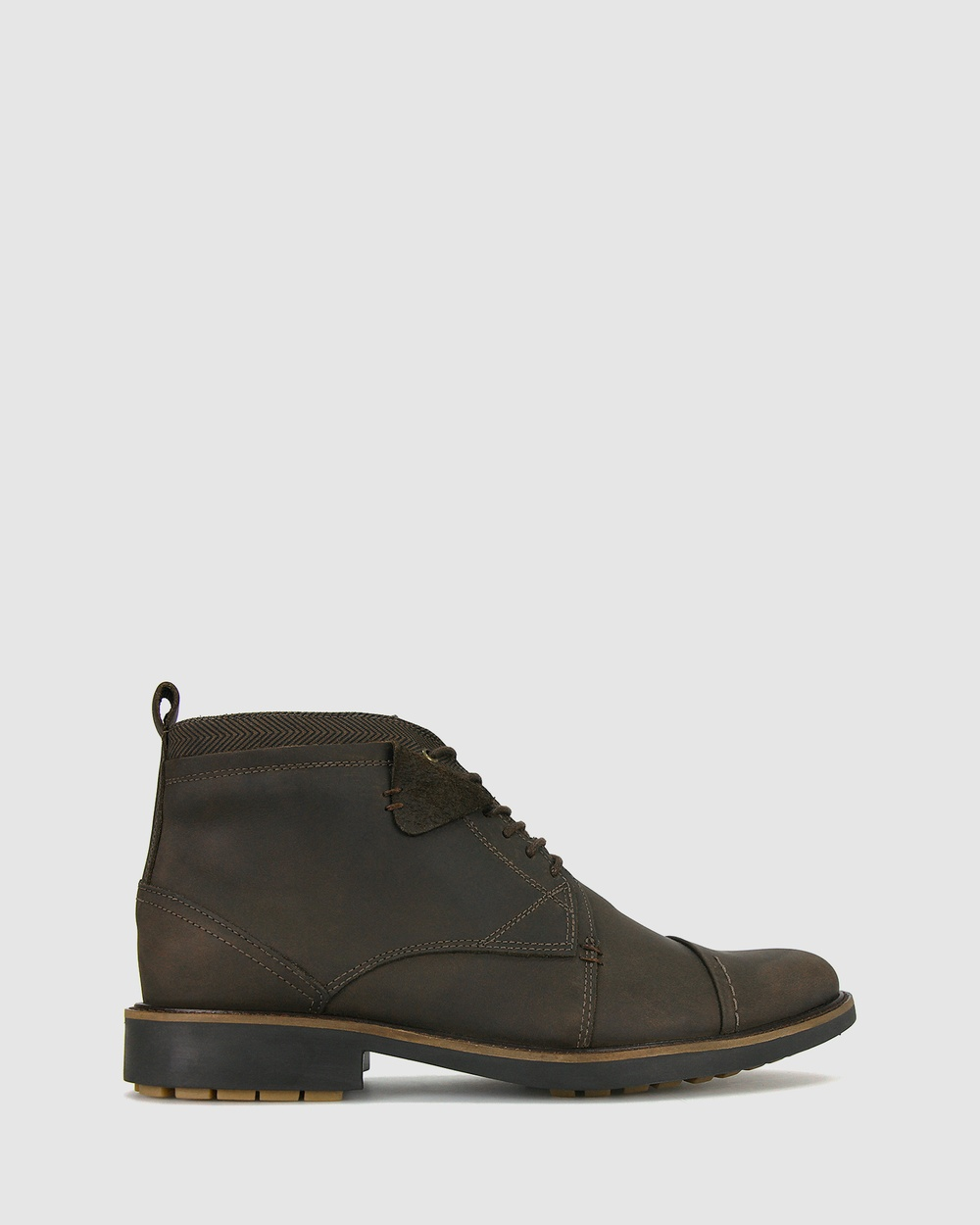 Airflex Yield Leather Boots Brown