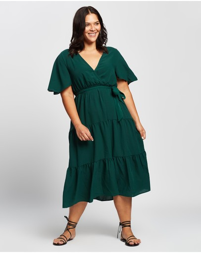 Atmos&Here Curvy - Caroline Midi Dress